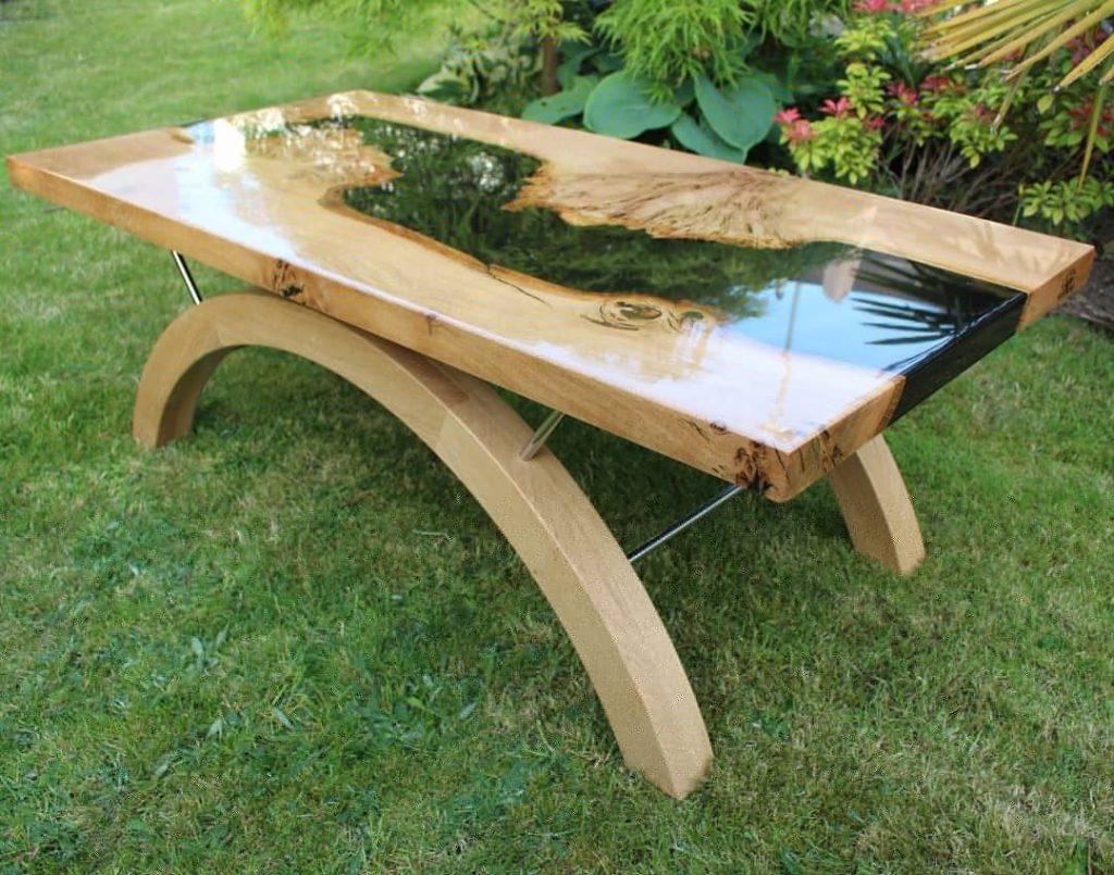 Oak River Coffee Table For Sale The Riven Oak